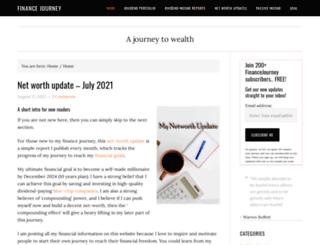 financejourney.com screenshot
