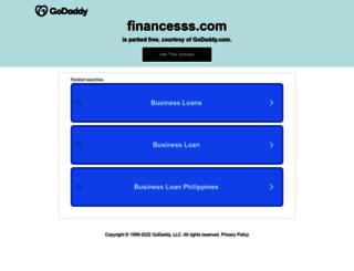 financesss.com screenshot