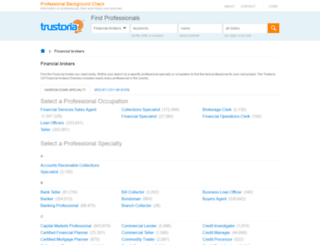 financial-broker.trustoria.com screenshot