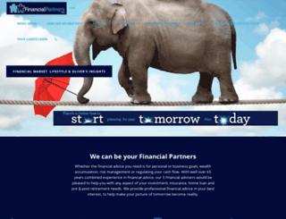 financialpartners.com.au screenshot