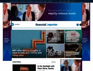 financialreporter.co.uk screenshot