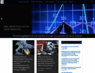 financialstabilityboard.org screenshot
