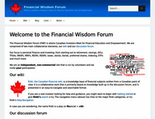 financialwisdomforum.org screenshot