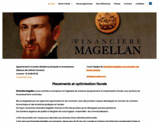 financieremagellan.com screenshot