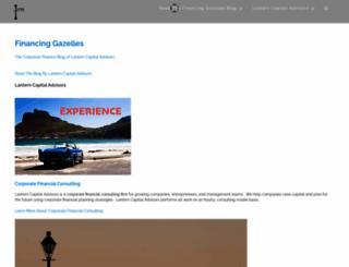 financinggazelles.com screenshot