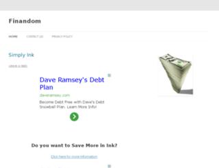 finandom.com screenshot