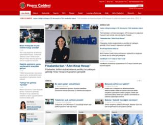 finanscaddesi.com screenshot