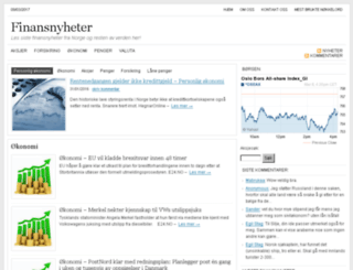 finansnyhetene.com screenshot
