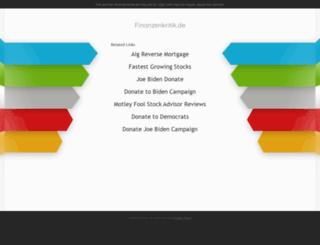 finanzenkritik.de screenshot