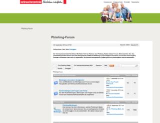 finanzforum.vz-nrw.de screenshot