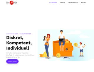 finapex.ch screenshot