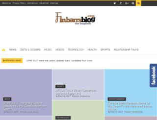 finbarrsblog.com screenshot