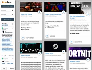 find-playdate.com screenshot