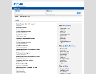 find.eaton.jobs screenshot
