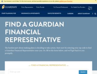 find.guardianlife.com screenshot