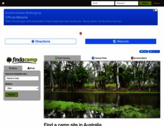 findacamp.com.au screenshot