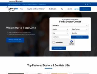 findadoc.com screenshot