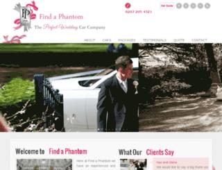 findaphantom.co.uk screenshot
