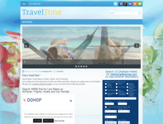 findatraveldeal.com screenshot