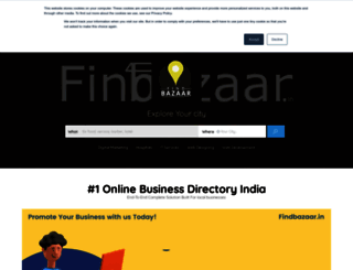 findbazaar.in screenshot