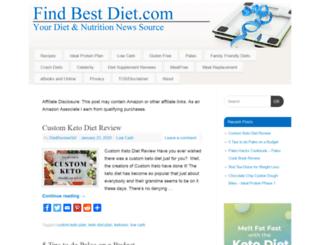 findbestdiet.com screenshot