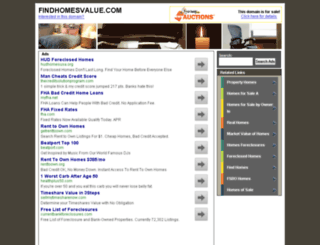 findhomesvalue.com screenshot