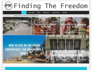 findingthefreedom.com screenshot