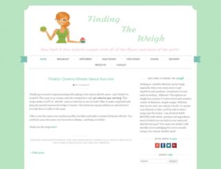 findingtheweigh.com screenshot