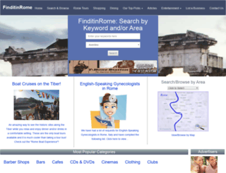 finditinrome.com screenshot