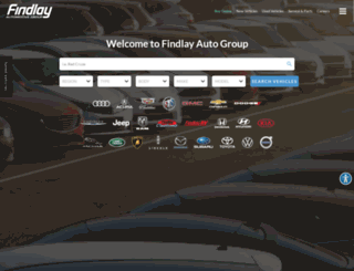 findlayauto.com screenshot
