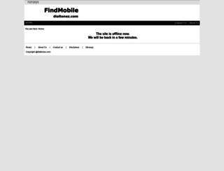 findmobile.dialtonez.com screenshot