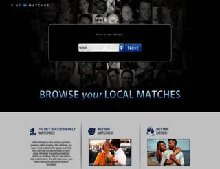findmymatches.com screenshot