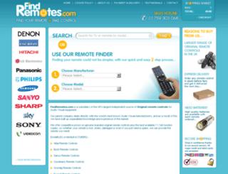 findremotes.com screenshot