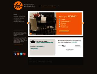 findyourfurniture.com screenshot