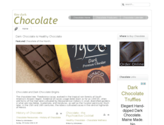 finedarkchocolate.com screenshot