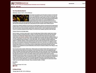 finemrespice.com screenshot