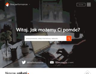 fineperformance.pl screenshot