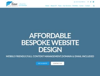 finewebmedia.com screenshot