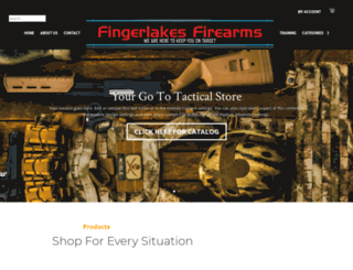 fingerlakesfirearms.com screenshot
