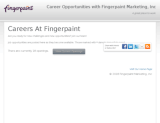 fingerpaintmarketing.hrmdirect.com screenshot