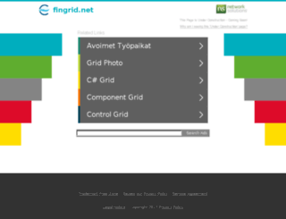 fingrid.net screenshot