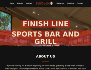 finishlinesportsgrill.com screenshot