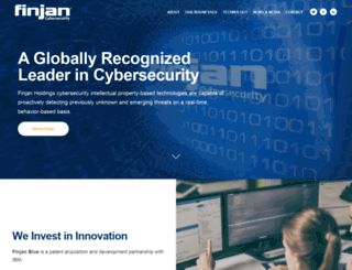 finjan.com screenshot