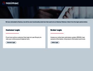 finloan.com.au screenshot