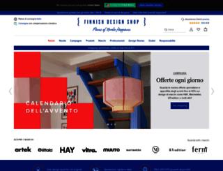 finnishdesignshop.it screenshot