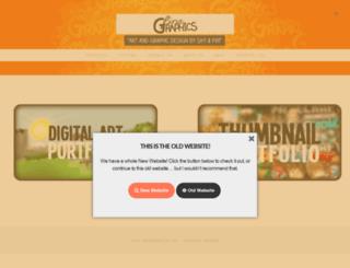 finsgraphics.com screenshot