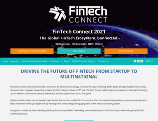 fintechconnectlive.com screenshot