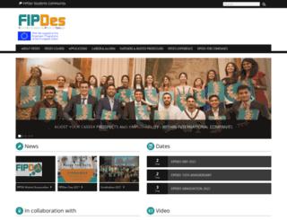 fipdes.eu screenshot