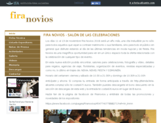 firanovios.feria-alicante.com screenshot