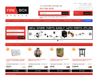 fireboxstoves.com screenshot